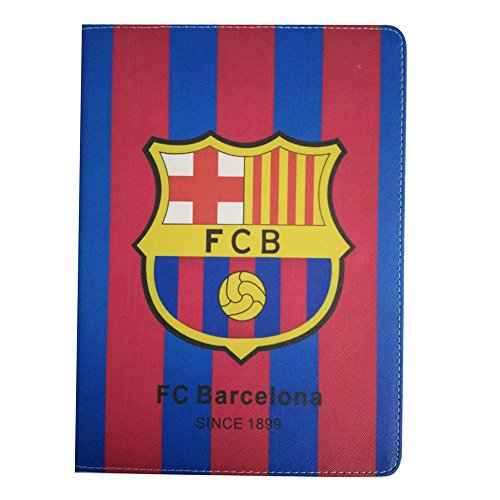 UK-Cherry Neue iPad 2018 iPad 9,7 Fall, real madrid Barcelona Chelsea Liverpool Arsenal Fußball Team Club Design PU Leder Halterung Flip Case Cover Für Neue iPad 2018 iPad 24,6 cm