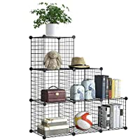 BRIAN & DANY 12-Cube Wire Storage Cubes