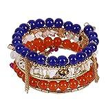 J.Me.Mi Persönlichkeit Armbänder Mode Armband/Legierung Perlen Armband Zum Mädchen Kleid Kollokation Ornamente,Red