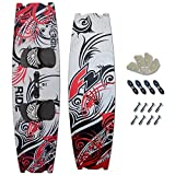 F2 Crossover Kiteboard Ride 141 x 41 cm PADSET + FINNEN + Handle