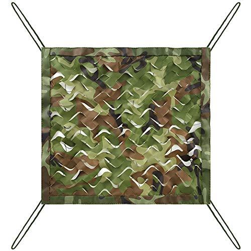 LSXIAO-Sichtschutznetz Sonnensegel Beschattungsnetz Sonnenschutz Begrünung Der Berge Tarnnetz Lichtfilterung Outdoor-Zierzaun, 7 Verschiedene Größen, 3 Farben (Color : Green, Size : 8x10m)