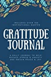 Gratitude Journal: A Daily 5 Question, 5 Minute Journal: A Daily Journal, Gratitude Book to Help Reduce Stress and Anxiety and Obtain Peace and Joy