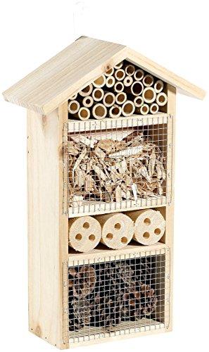 Royal Gardineer Insekten Brutkästen: Insektenhotel Flora - Nistkasten für Nützlinge (Insekten Nisthilfen für Nützlinge)