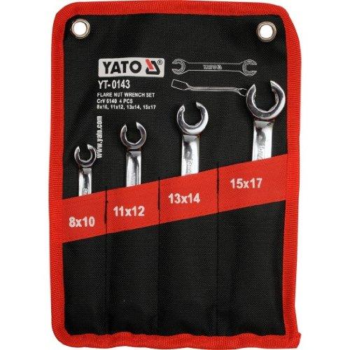 Preisvergleich Produktbild YT yato-0143-deux Ringschlüsselsatz 8Löcher–17mm