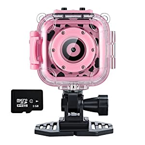 Ourlife Kids Camera, Action Camera for kids with Video Recorder includes 8GB memory card from Ourlife