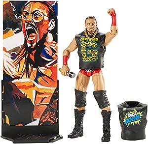 WWE Figura Elite Wrestlemania de acción, luchador Big Cass (Mattel FMG34)