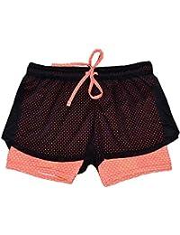 VENMO Mujeres Deportes Gimnasio Ejercicio Cintura Flaca Yoga Pantalones Cortos