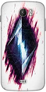 Snoogg Pyramid From Above 2687 Designer Protective Back Case Cover For Micromax A110
