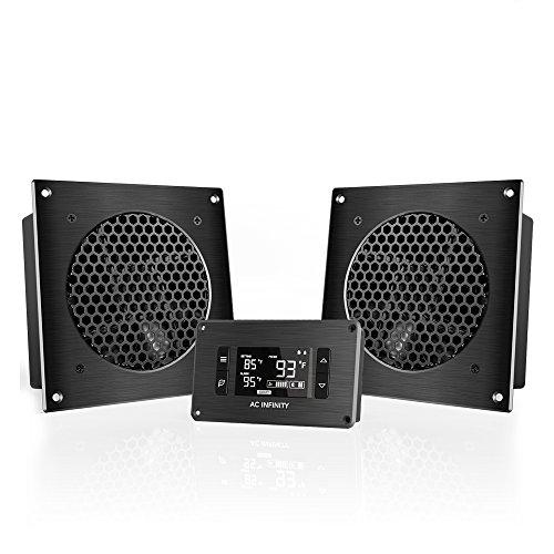 Lüfter Schränke (AC Infinity AIRPLATE T8 Pro, leises abkühlendes Doppelventilator-System 6