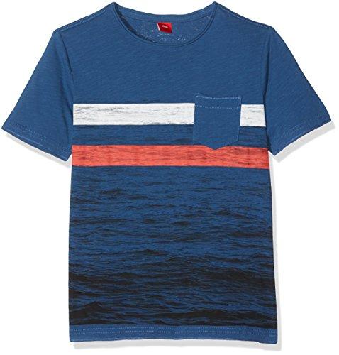 soliver-jungen-t-shirt-kurzarm-blau-dark-blue-5729-152-herstellergrosse-m-reg