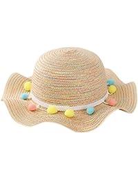 Zantec Sombrero mono para las niñas de playa 2d3e9687aae