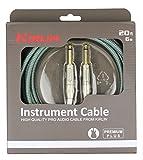 Kirlin IWB201-6OL Premium Plus Câble jack pour Instrument Olive