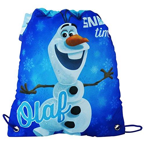 Disney Frozen Olaf Sacco Piccolo Bambina Scuola Tempo Libero Multiuso