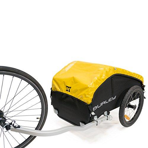 Burley  Fahrradlastenanhänger Nomad, schwarz/gelb, One Size, 3091960000 - 2