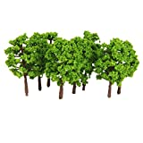 Generic Plastic Model Tress Train Railro...