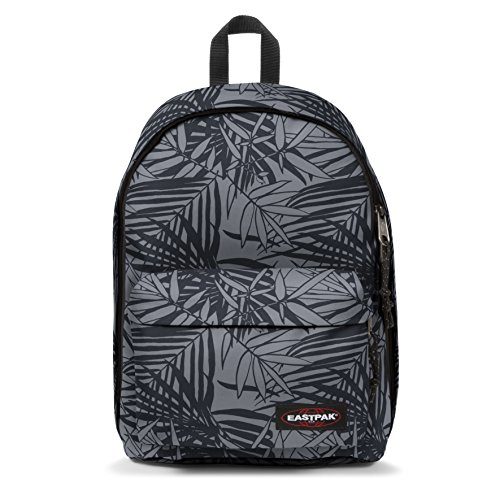 Eastpak Out Of Office Sac à dos, 44 cm, 27 L, Noir (Leaves Black)