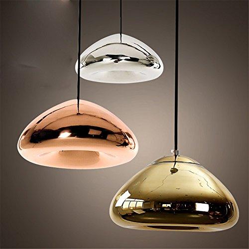 Joeyhome Rotondo in vetro luce pendente creative Tom Dixon Void indoor illuminazione goccia per la macchina per il caffè e il negozio di abbigliamento/ristorante/bar caffè,nastro