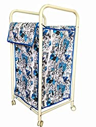 Synergy - Premium Laundry Bag / Basket / Trolley (97 Litres) With Wheels