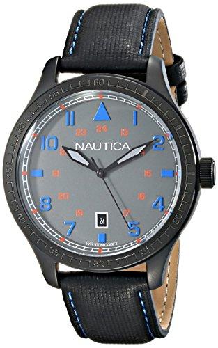 nautica-hommes-de-n11110g-canoe-105-date-affichage-analogique-a-quartz-japonais-montre-noir
