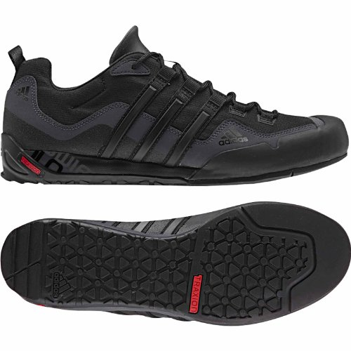 Adidas Sport Performance Terrex Swift Sneakers Solo, noir, 6 M Black / Black / Lead