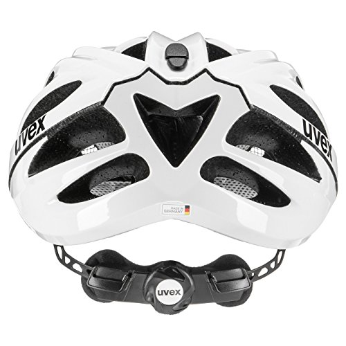 UVEX Helm Boss Race, White, 52-56 cm, 4102290215 - 2