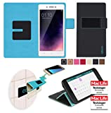 reboon Hülle für Oppo Neo 7 Tasche Cover Case Bumper | Schwarz | Testsieger