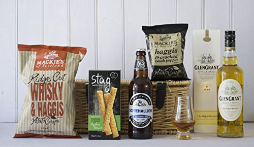 Scottish Glen Grant Whisky & Snack Hamper