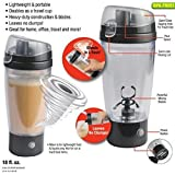 Siddhi Collection Premium Quality Electric Protein Shaker Blender Water Bottle Automatic Movement Vortex Tornado Transparent Multifunction Smart Mixer Cup