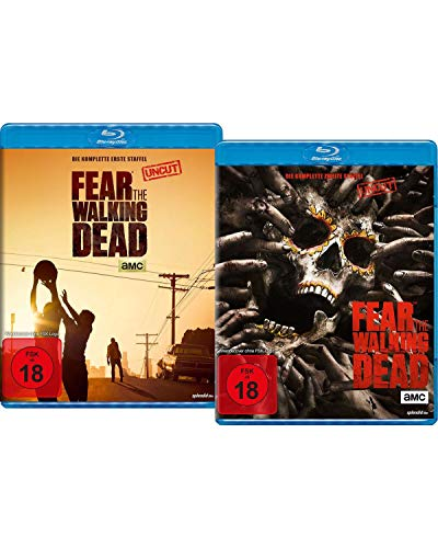 Bundle: Fear the Walking Dead Staffel 1+2 LTD. [Blu-ray]