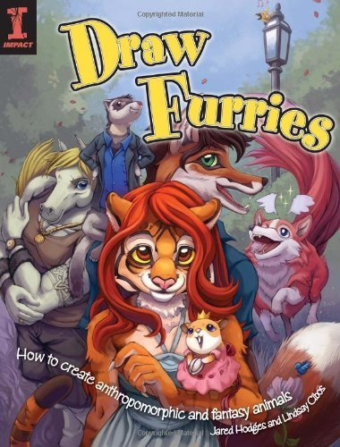 [(Draw Furries: How to Draw Fantasy Animals and Anthropomorphic)] [ By (author) Lindsay Cibos, By (author) Jared Hodges ] [December, 2009]