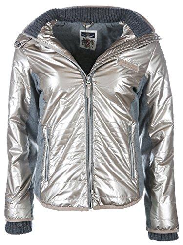 L'Argentina Damen Jacke Größe XL Silber (silber) gebraucht kaufen  Wird an jeden Ort in Deutschland