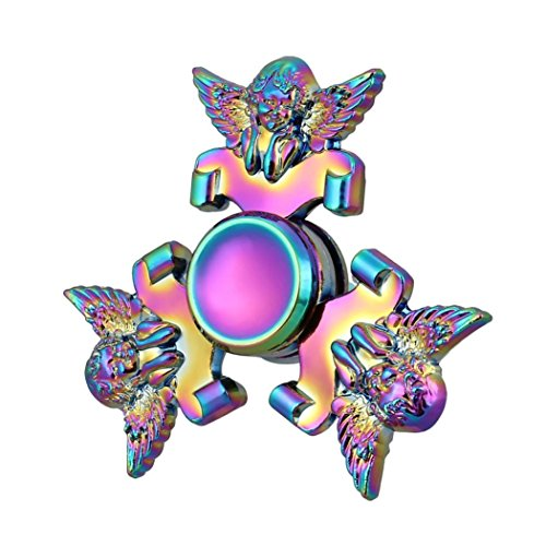 Hand Spinner ,Saingace Cupid Tri Fidget Hand Spinner Finger Triangle Metal Focus Toy Kids/Adult