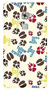 TrilMil Printed Designer Mobile Case Back Cover For Huawei Mate S