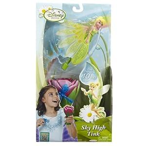 Jakks Pacific Disney Fairies - Juguete con Cuerda para lanzar, diseño de Campanilla