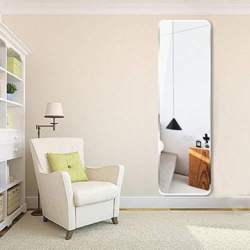 Espejo Cuerpo Entero Colgante Pared Pegado Habitación