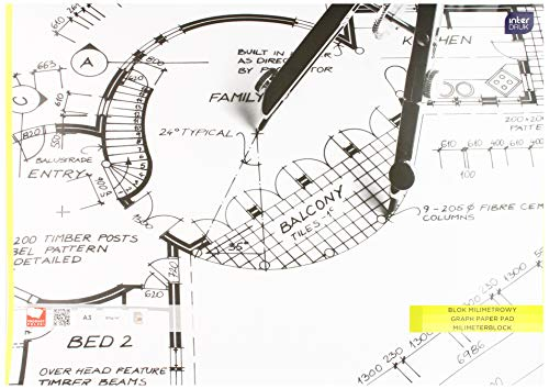 Interdruk BLMIA3 - Bloc de Papel de ingeniería (A3, 20 Hojas