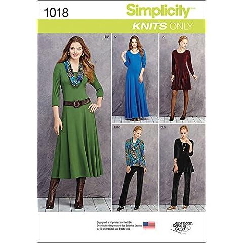 Simplicity 1018Tamaño U516/18/20/22/24