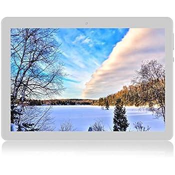 Android Tablet de 10 Procesador de Cuatro núcleos 4GB de RAM y 64 GB de Memoria Tablet PC WiFi Cámara GPS y Doble Ranuras de Tarjeta SIM Internet 3G