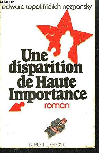 DISPARITION DE HTE IMPORTANCE