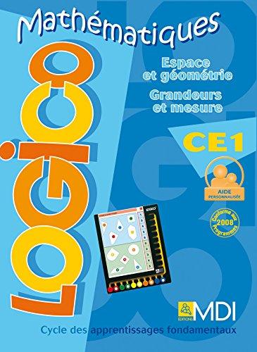 Espace et géométrie / grandeurs et mesures – CE1 par Collectif
