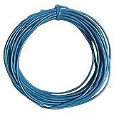 sharprepublic Hallazgos De Cuerdas De Nylon Cable De Joyería Que Hace De 2 Mm De Cera 10m Café Claro - Lago azul, tal como se describe