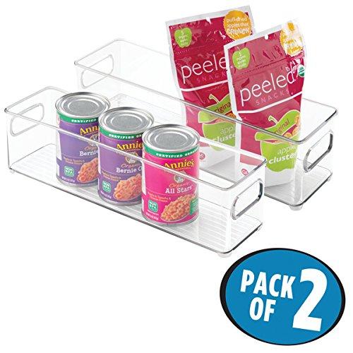MDesign 2er Set Kühlschrankbox   Aufbewahrungsbehälter Für Lebensmittel    Praktischer Vorratsbehälter Für Kühl  Und
