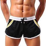 MIOIM® Herren Sporthose kurz Sport Shorts Jogginghose Laufhose Fitness Freizeit Trainingshose Gym Hose Sommer Athletische Workout Pants Sportwear