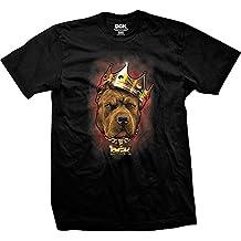 DGK Men'S Spirit Animal Pitbull SS T Shirt Black