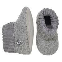 Melton Baby Unisex 470003 Babyshoes and Slippers Grey Size: 24-36 monthsUK Child