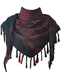 Explore Land 100 Cotton Military Shemagh Tactical Desert Keffiyeh Scarf Wrap