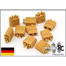 Buchse Schwarz Plug Hochstrom ConnectorLiPo AMASS Original 5 Paar XT60 Stecker
