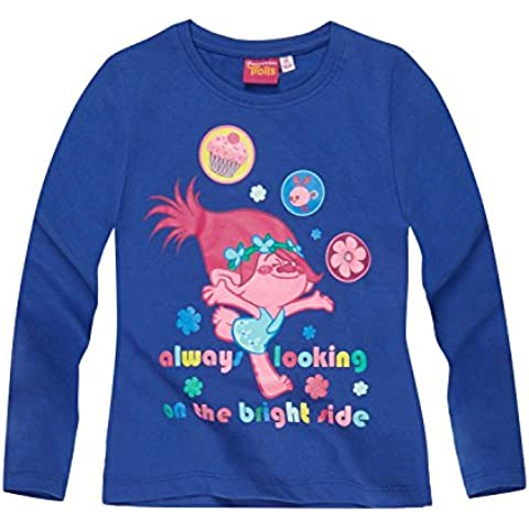 Trolls Chicas Camiseta mangas largas 2016 Collection - Azul
