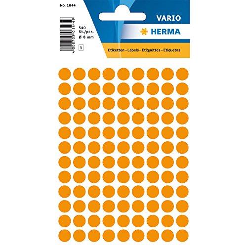 1844-vielzwecketiketten-orange-oe-8-mm-rund-papier-matt-540-st-vielzwecketiketten-zum-markieren-und-