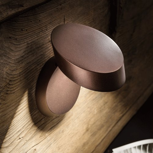 Studio Italia Design Pin Up LED Applique Lampada da Parete o Soffitto Bronzo